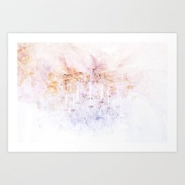 Palace Chandelier 3 Art Print