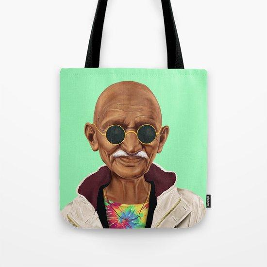 Hipstory -  mahatma gandhi Tote Bag