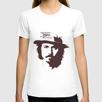 johnny depp T-shirts featuring Lab No. 4 - Johnny Depp Motivational quotes Poster by Lab No. 4