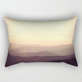 Smokier Mountain Rectangular Pillow