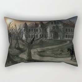 The Fall of the House of Usher Rectangular Pillow