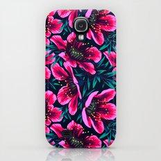 Manuka Floral Print Slim Case Galaxy S4
