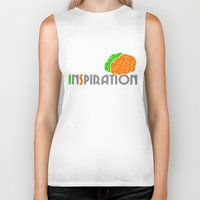 inspiration Biker Tanks featuring Inspiration by Todd Trotter