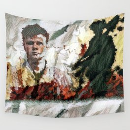 The Hired Man Wall Tapestry