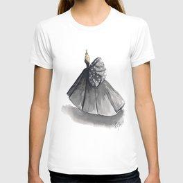 Polka Dot Watercolor Fashion Gown T-shirt
