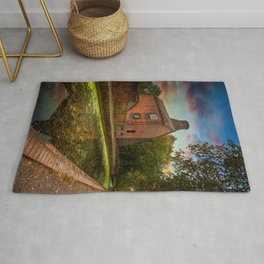Coalport Bottle Kiln Sunset Rug
