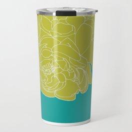 Floral Greens Travel Mug