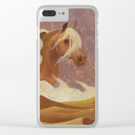 DesertDancer Clear iPhone Case
