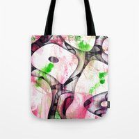 soul Tote Bags featuring Soul by SensualPatterns