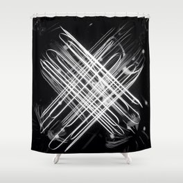 Edison X Shower Curtain