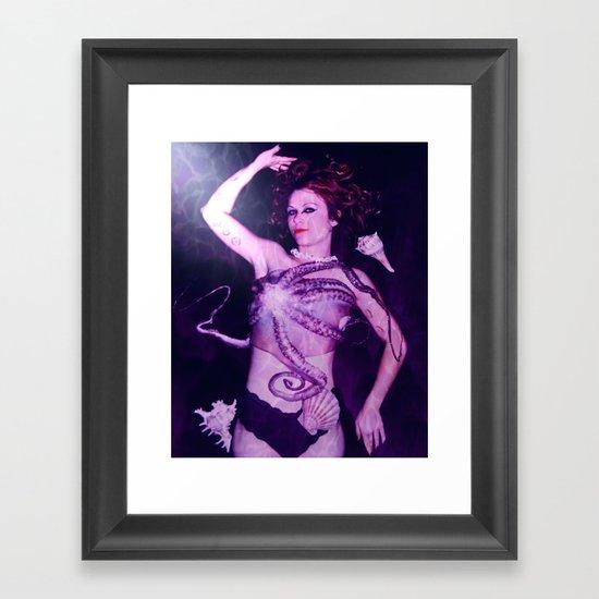 Ursula-Disney Villains Series Framed Art Print