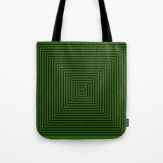 Squared Spiral Tote Bag