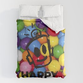 HAPPY GUMBALLS Comforters