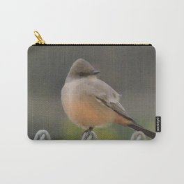 Say's Phoebe at Dusk Carry-All Pouch