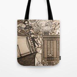 Adventure (in sepia) Tote Bag