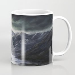 Ominous Mountains Coffee Mug