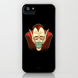 Dracula+face+mask+Best Gift iPhone Case