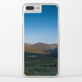 Beirstadt Mountain Clear iPhone Case
