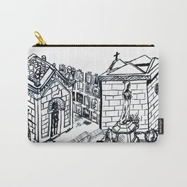 Cemetery of Sant Gervasi Carry-All Pouch
