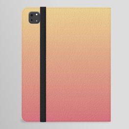 Summer Sunset Gradient Ombré Abstract iPad Folio Case