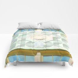 Decorated Concrete 001 Comforters