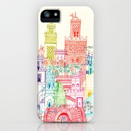 Marrakech Towers  iPhone Case