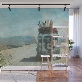 ALPACA WANDERLUST II SUMMER EDITION Wall Mural