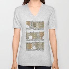 Brooklyn (color) Unisex V-Neck