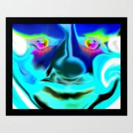 Eyes of Collors Art Print