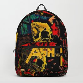 Ash Faces Many Evils Backpack