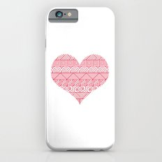 Patterned Valentine Slim Case iPhone 6s