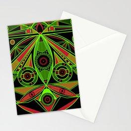 The third eye (Black) Stationery Cards
