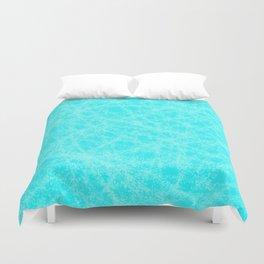 Robin Egg Blue Abstract Duvet Cover