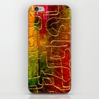 labyrinth iPhone & iPod Skins featuring Labyrinth by Chicca Besso