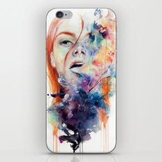 this thing called art is really dangerous iPhone Skin