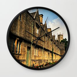 The Almshouses of Chipping Campden Wall Clock