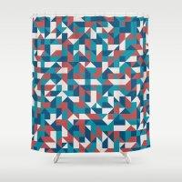 native Shower Curtains featuring Native by Matt Borchert
