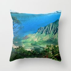 The Glitch Escape Throw Pillow