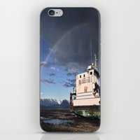 homer iPhone & iPod Skins featuring Homer, Alaska by Chris Rod