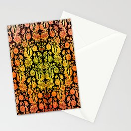 Floral Fabric Vintage Gift Pattern #1 Stationery Cards