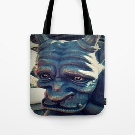 Sad Gargoyle Closeup 1 Tote Bag