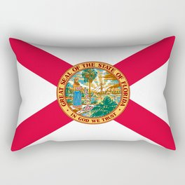 Flag of Florida Rectangular Pillow