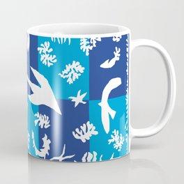 Matisse Cut Out Collage - Seascape Coffee Mug