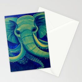 Octophant Stationery Cards