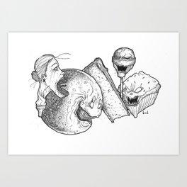 Dessert Art Print