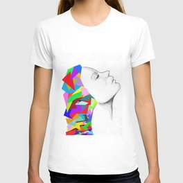 colorful mind T-shirt