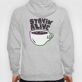 Stayin' Alive in 3D Hoody