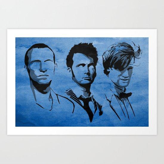 The Doctor Art Print
