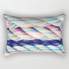 Rainbow Rope Rectangular Pillow