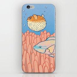 Fish Day iPhone Skin